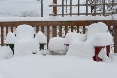 """Summertime buried under 14"""" of Winter"""